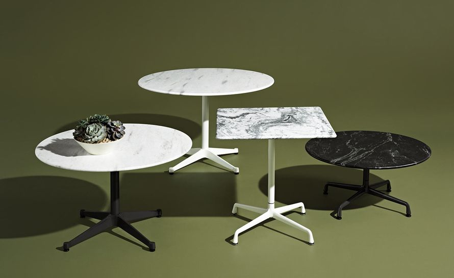 Eames Square Contract Base Outdoor Table Modern Patio Furniture
