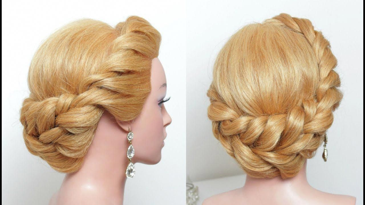 Easy Updo Hairstyle For Long Hair Tutorial Step By Step Youtube Promhairstylesforlonghair Long Hair Tutorial Easy Updo Hairstyles Hair Tutorial