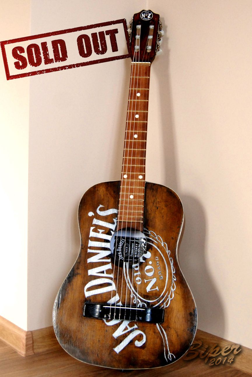 Hand Painted Guitar Harley Davidson Guitar Hand Paint Painted