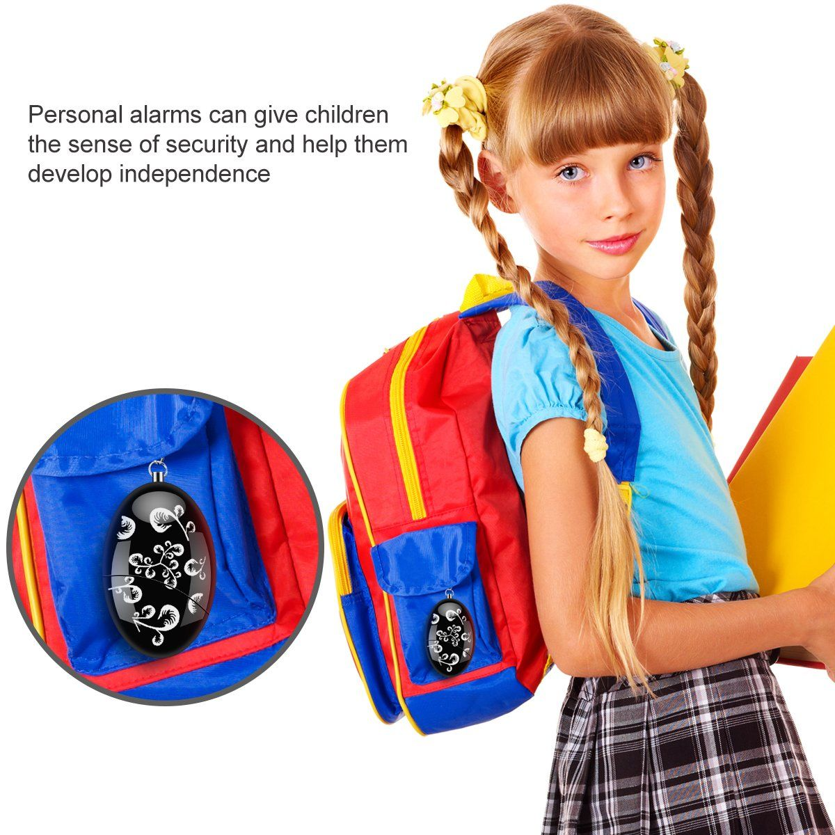 Personal Alarm Security Devices 120dB Emergency Safety