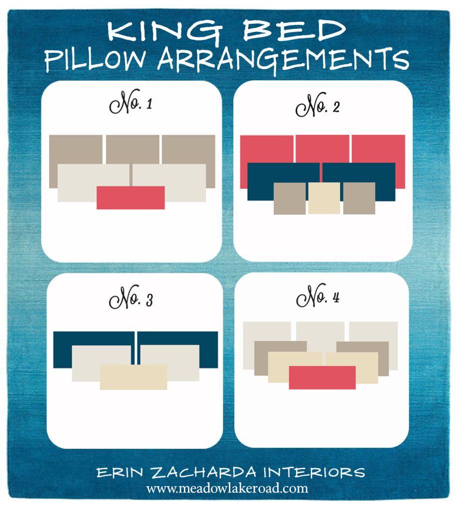 bed pillow arrangement bed pillows