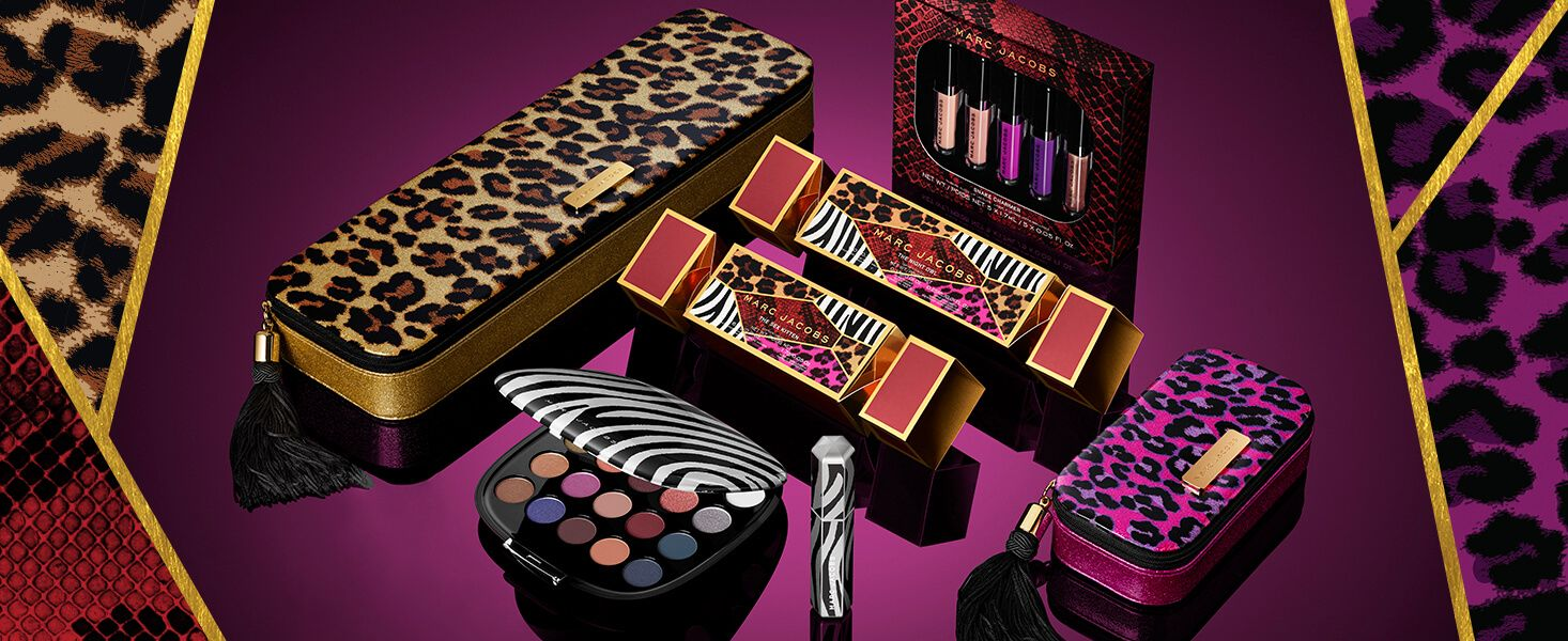 Marc Jacobs Beauty Holiday 2017 collection | Marc jacobs