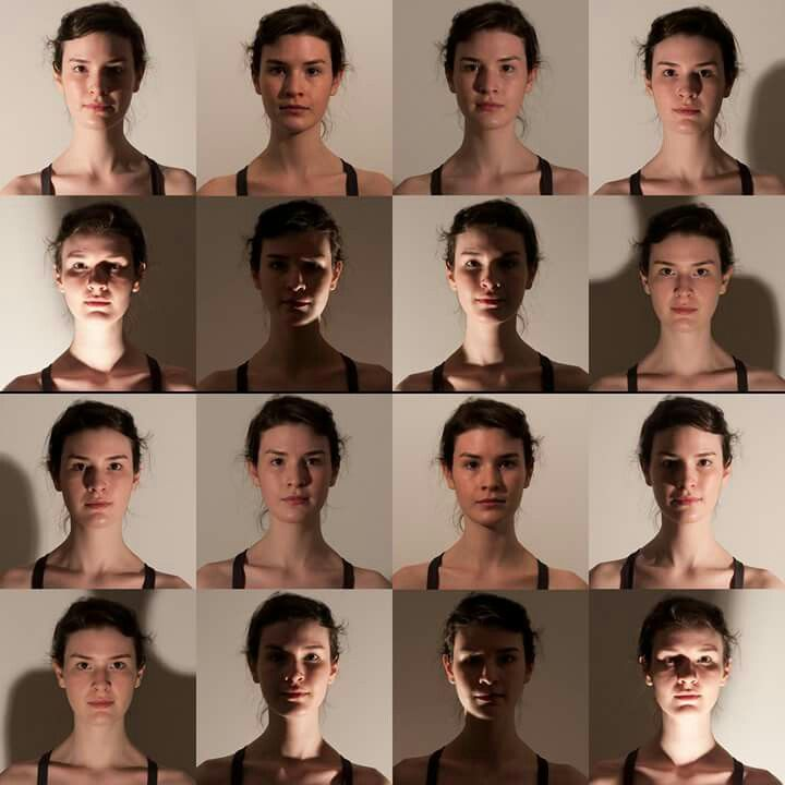 Dance Lighting Portrait Art Reference Poses Face Drawing Reference