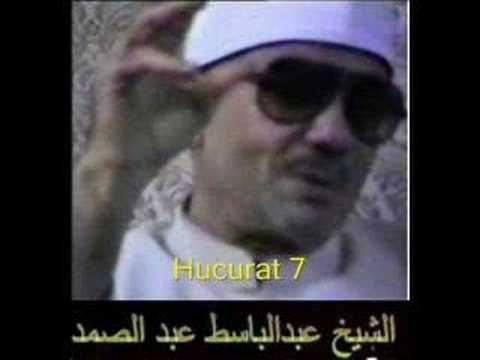 Abdulbasit Abdussamed Hucurat Youtube Coran