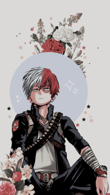 Shouto Todoroki Wallpaper Tumblr Anime Boy Hero Wallpaper Anime Guys