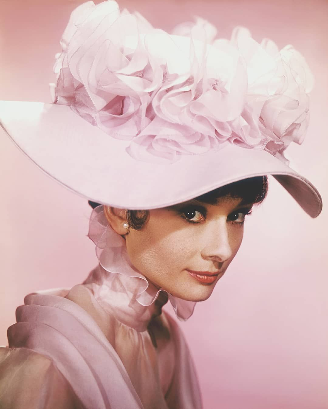 """Audrey Hepburn Fan on Instagram: """"Audrey in a promotional photo for My Fair Lady, 1963. Photo by Cecil Beaton. … #audreyhepburn #myfairlady #cecilbeaton #actress…"""""""