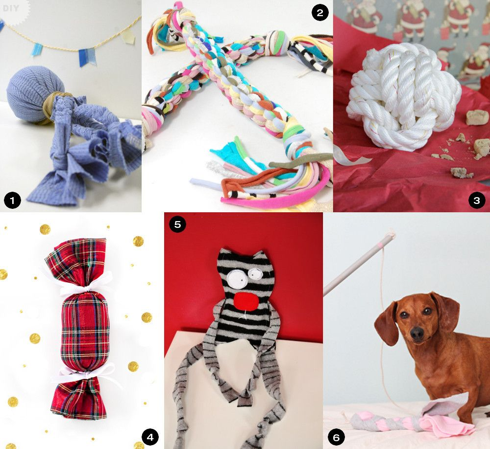 Holiday Gift Guide 30 Diy Gifts For Dogs Diy Dog Gifts Dog
