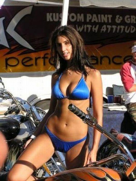 Biker hot girls sturgis