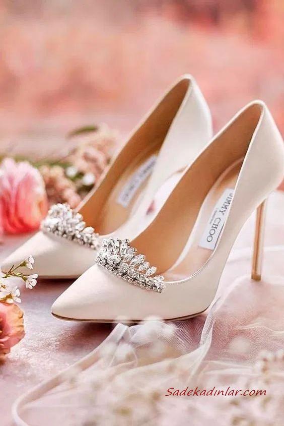 2020 Düğünleri İçin En Şık Gelin Ayakkabı Modelleri