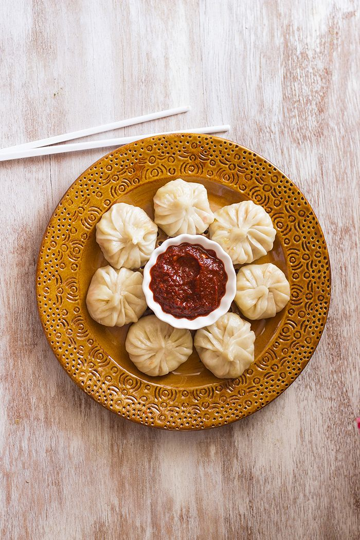 Steamed Veg Momo Recipe Vegan Dumplings