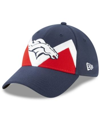 size 40 5a049 38126 New Era Denver Broncos Draft Spotlight 39THIRTY Cap - Blue M L