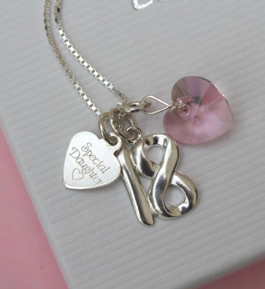 Unique Personalised Gifts 18th Birthday Jewellery Keepsake For A Special Daughter Every Present Comes With Wonerful Little Extras