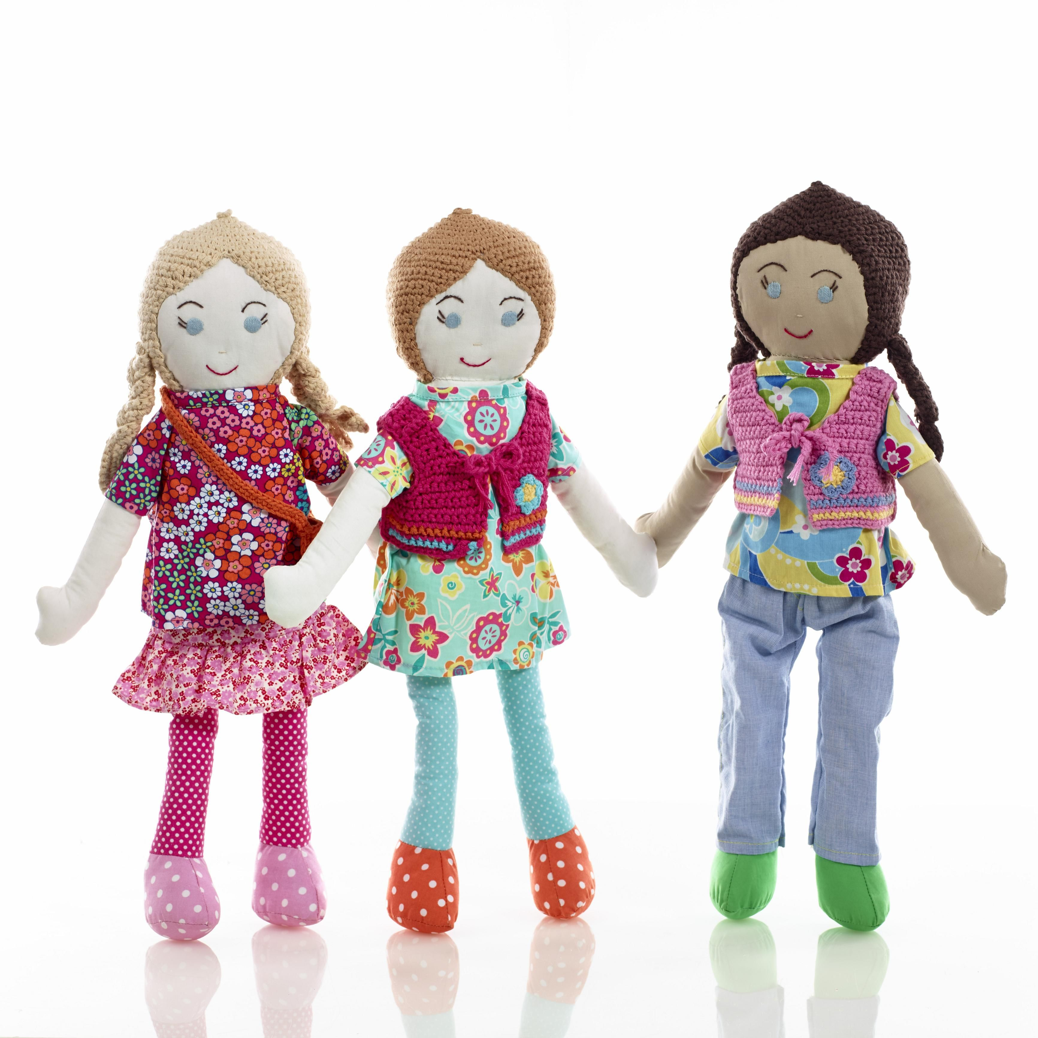 And dolls do not have to be pink to be popular