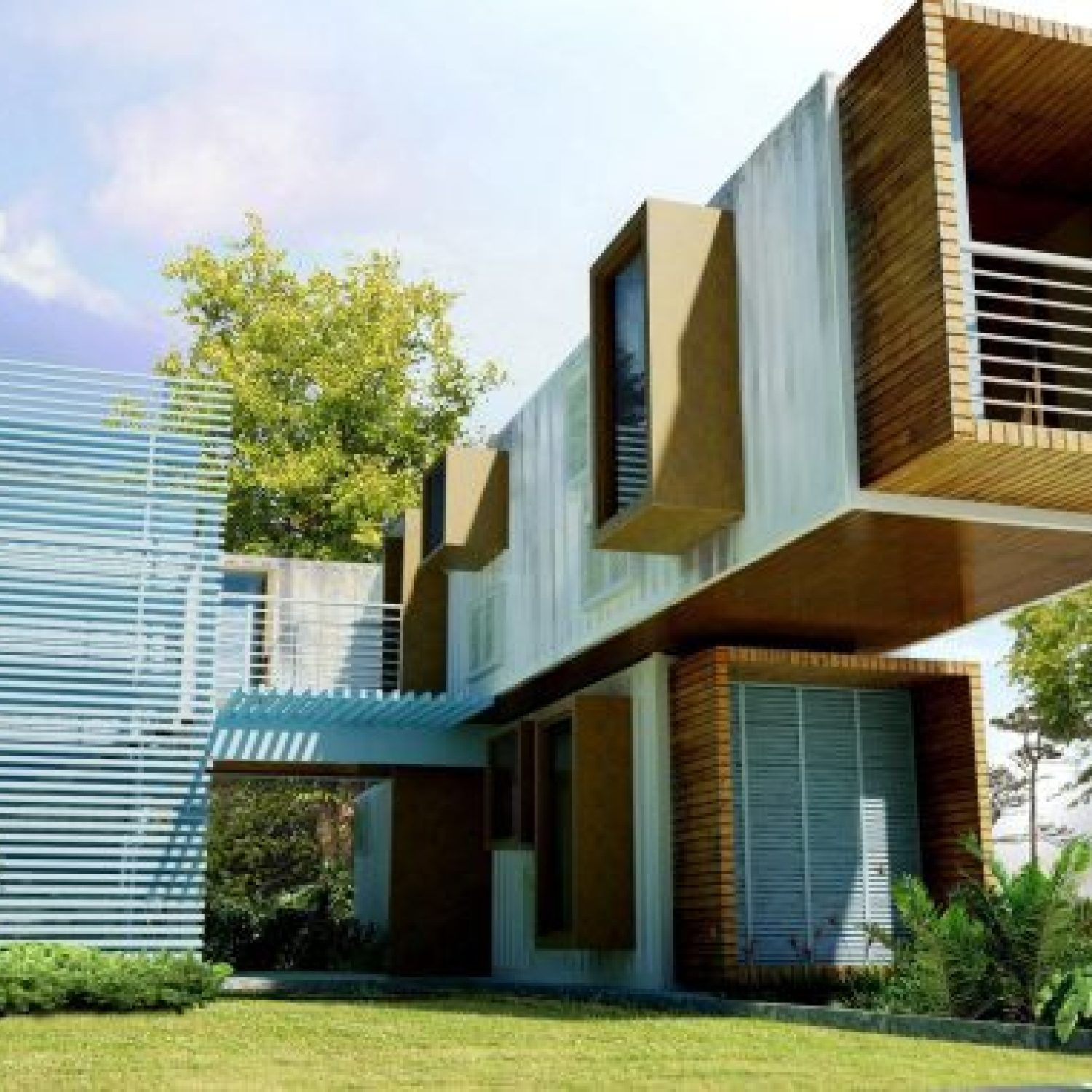 44+The Appeal of Modern Container House Design Ideas