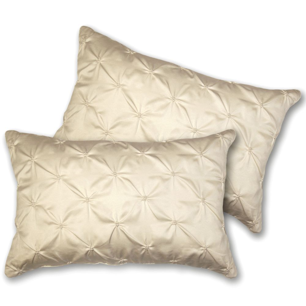 Decorative Pillow Set Lush Decor Lucia Oblong Ivory Decorative Pillows Set Of 2 By