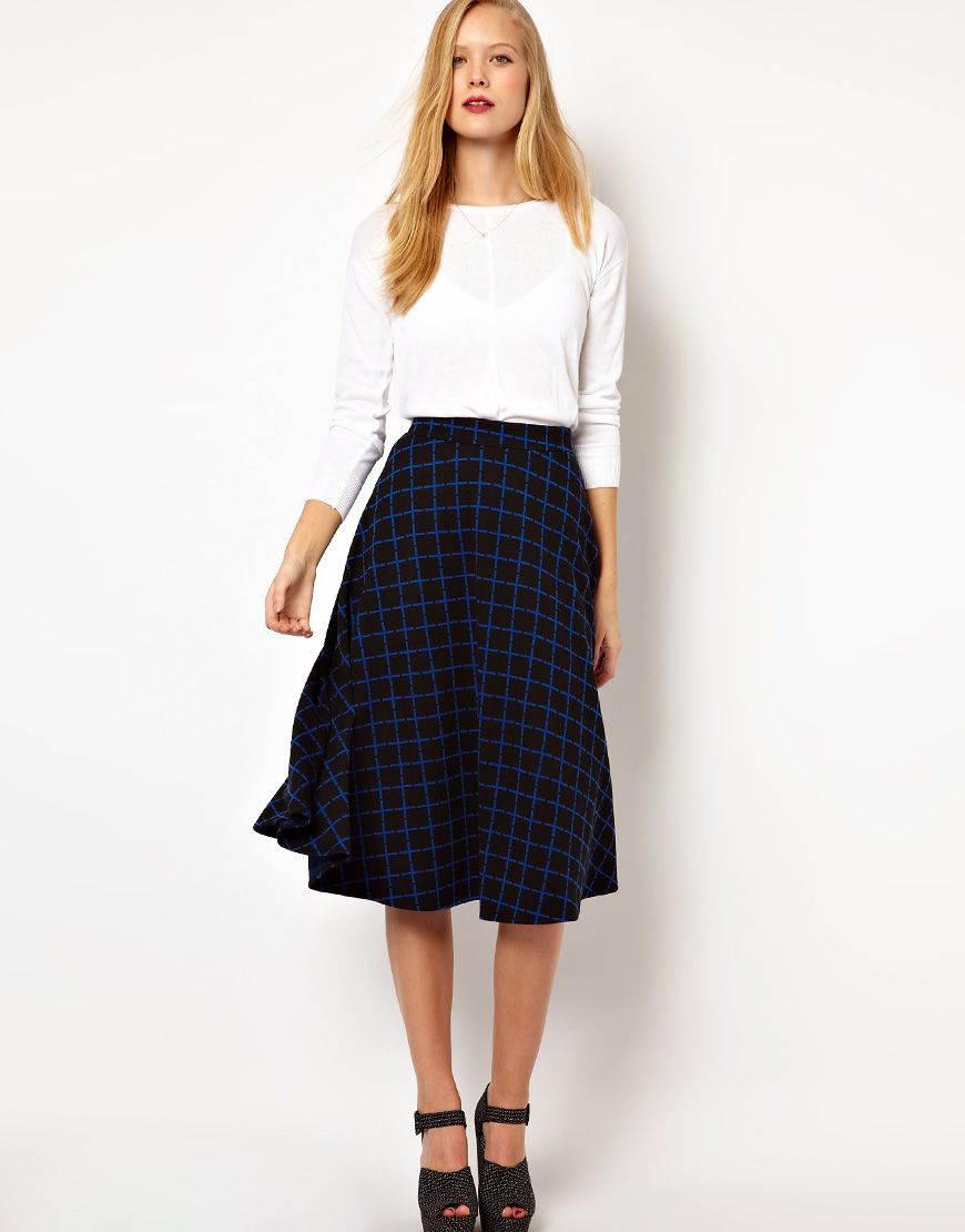 midi skirt casual outfit - Căutare Google | Midi skirts - outfits ...