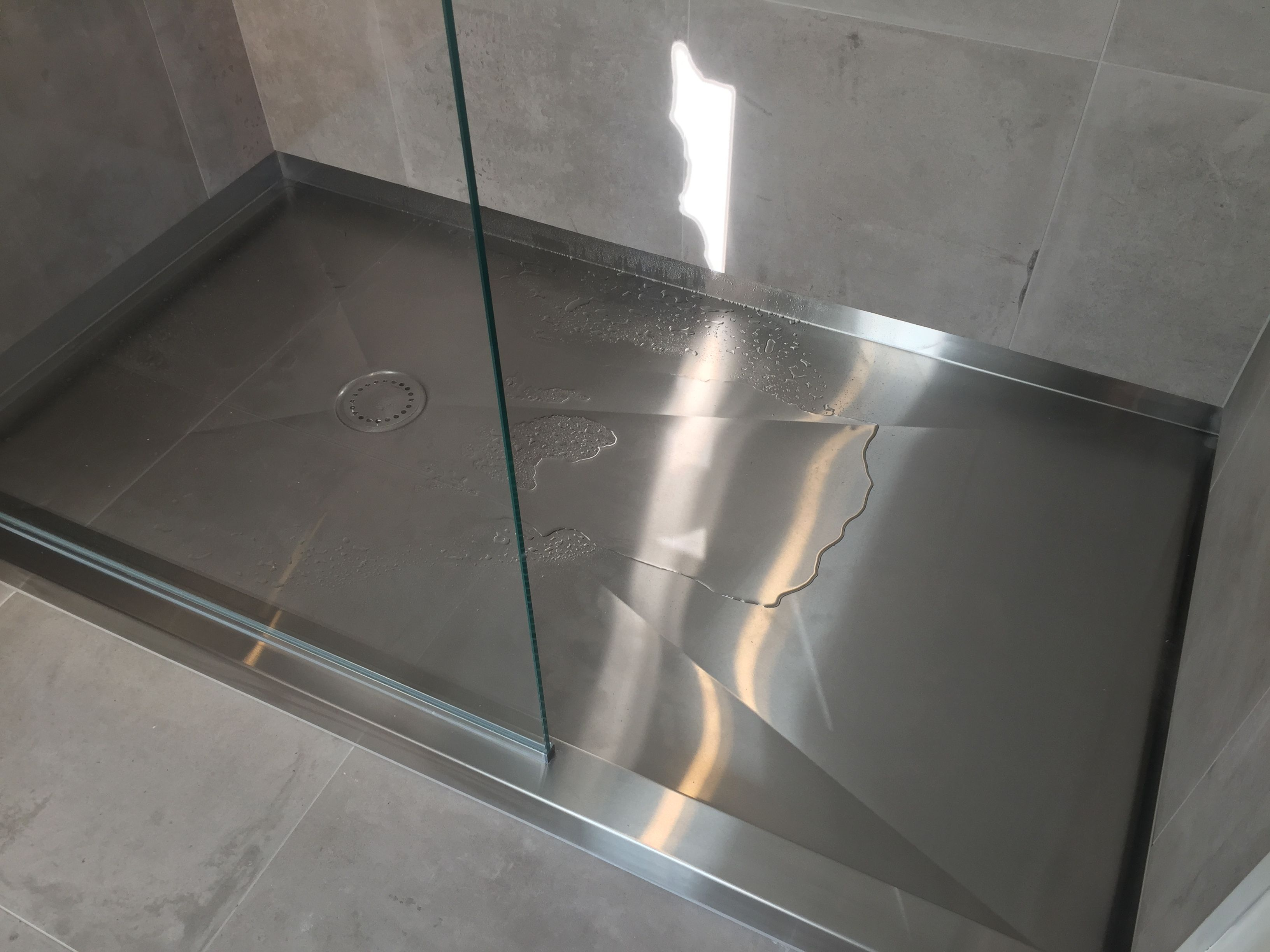 Stainless Steel Shower Tray Franich With Images Stainless