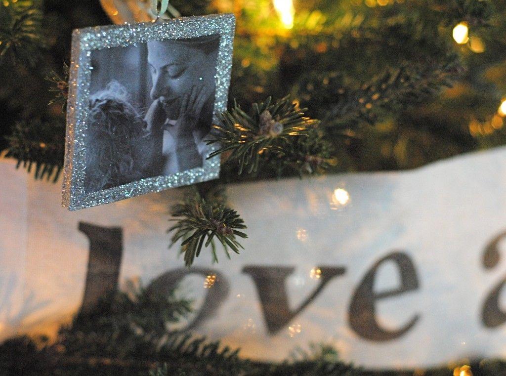 DIY Photo Ornaments {Our Family Tree} Diy photo