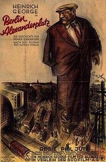 Heinrich George Berlin Alexanderplatz 1931 Berlin German Art Cinema Posters