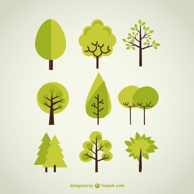 Tree Vectors, Photos and PSD files | Free Download | Illustration in