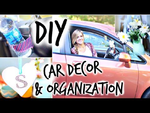 Diy car decor organization youtube pinterest diy car cars diy car decor organization solutioingenieria Gallery