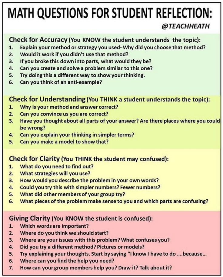 critical thinking and reflection