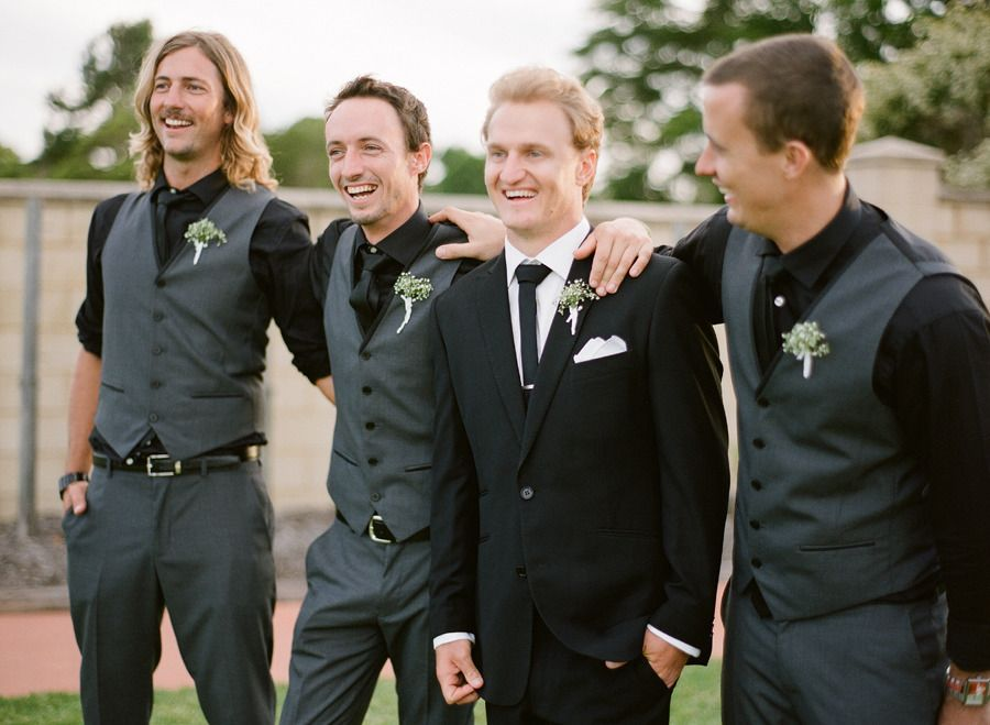 Black Shirt Wedding