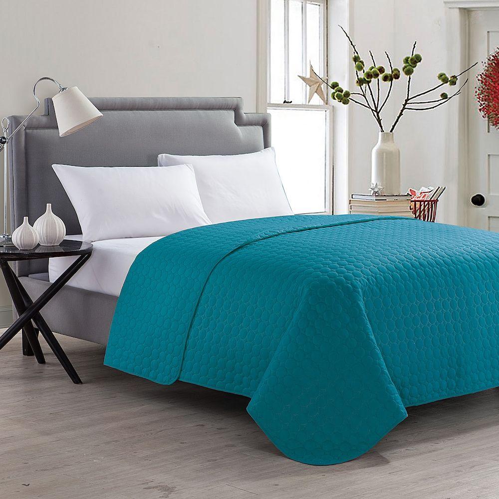 Vcny Jackson Quilt, Turquoise/Blue (Turq/Aqua)