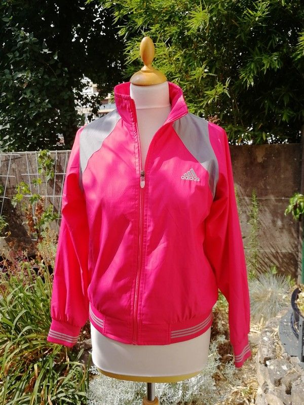 Veste Vintage Adidas Rose De Pinterest Survêtement Look rrqzS4B
