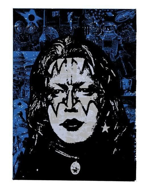 Kiss Poster / Ace Frehley / 1 of 4