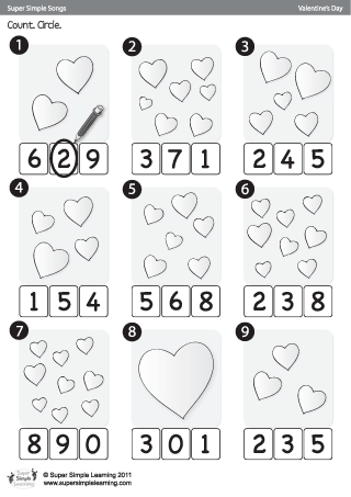math worksheet : 1000 images about valentine s day on pinterest  super simple  : Free Valentine Worksheets For Kindergarten