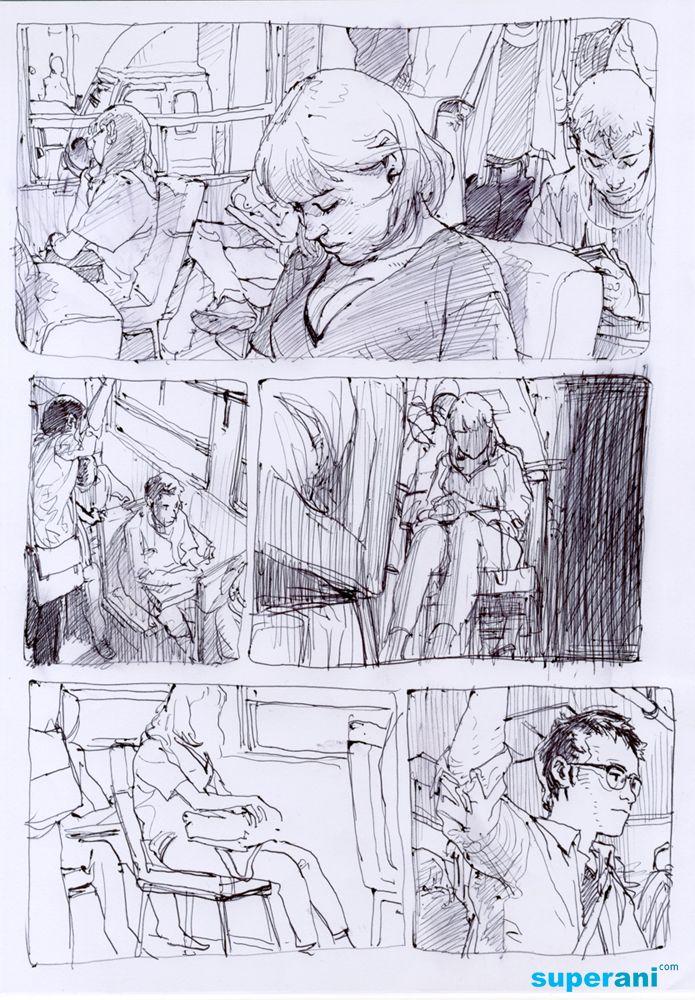 Junggi Kim  Junggi Kim    Comic Storyboard And Sketches