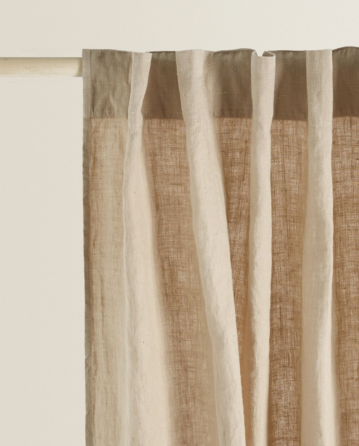 Image 1 Of The Product Linen Curtain Earsham Curtains Zara