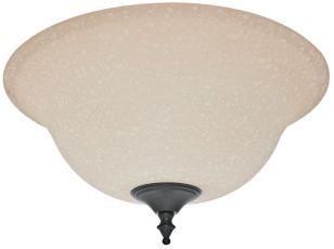 White Linen Glass Bowl Ceiling Fan Light Cover Shop Ceiling Fans Ceiling Fan With Light
