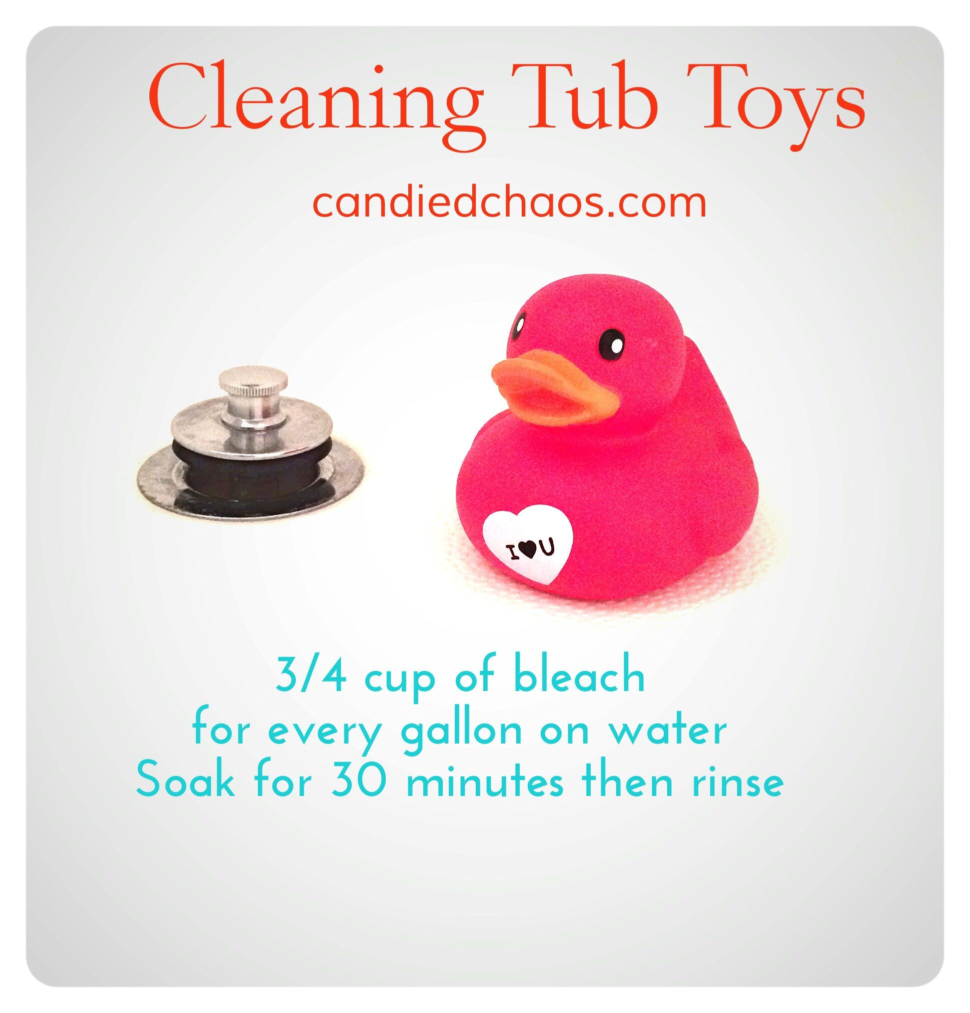 Cleaning Tub Toys