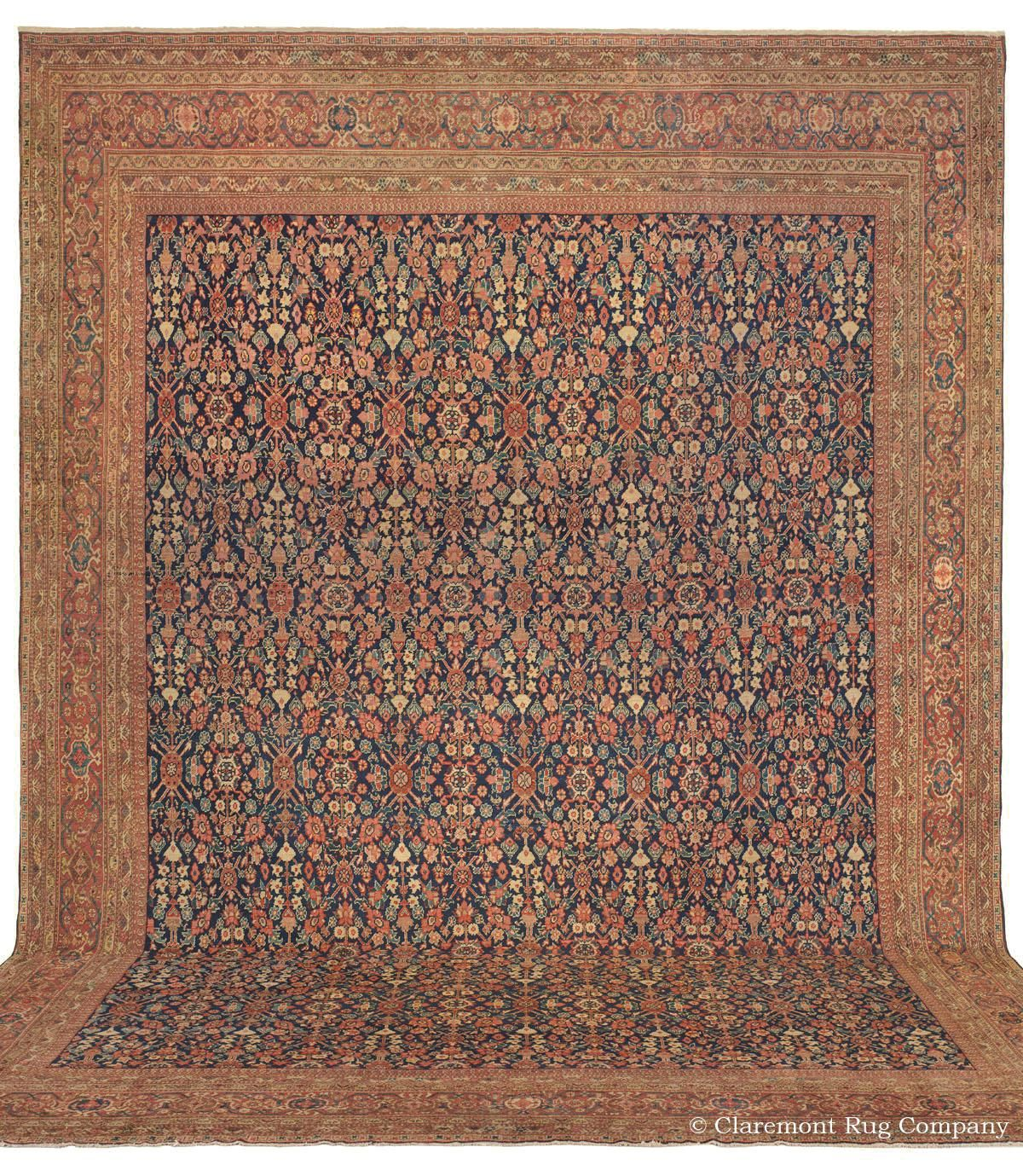 Sultanabad West Central Persian 14ft 0in X 18ft 0in 3rd Quarter 19th Century From O Claremont Rug Company Rugs On Carpet Antique Persian Carpet