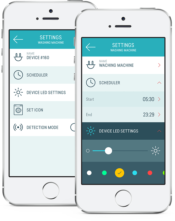 UI Design - Settings screen | Home Automation | Pinterest | User ...