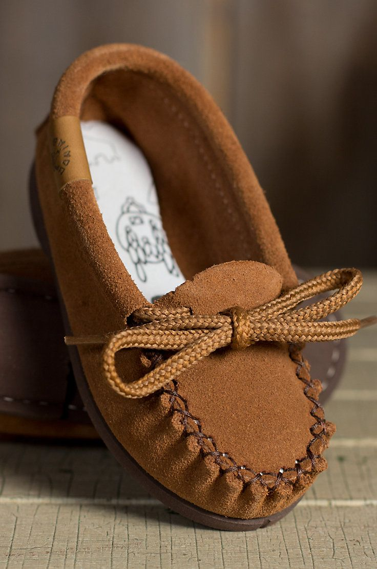 Leather moccasins, Boy shoes