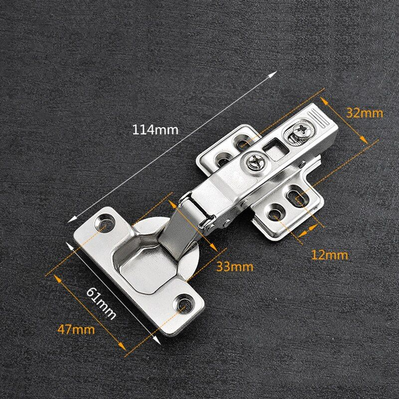 4pcs Hinge Door Hydraulic Hinges Soft Close For Cabinet Kitchen Furniture Silent Cushionin Home Supplies In 2020 Furniture Hinges Kitchen Furniture Hinges