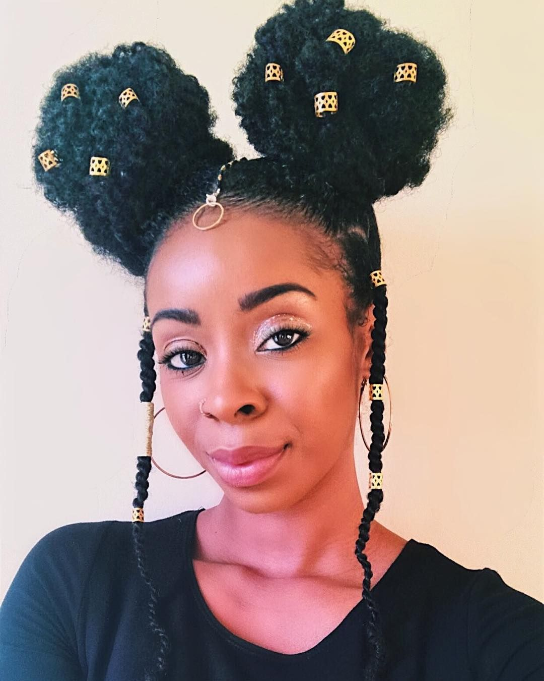 Instagram With Images Hair Puff Stylish Hair Natural Hair Styles