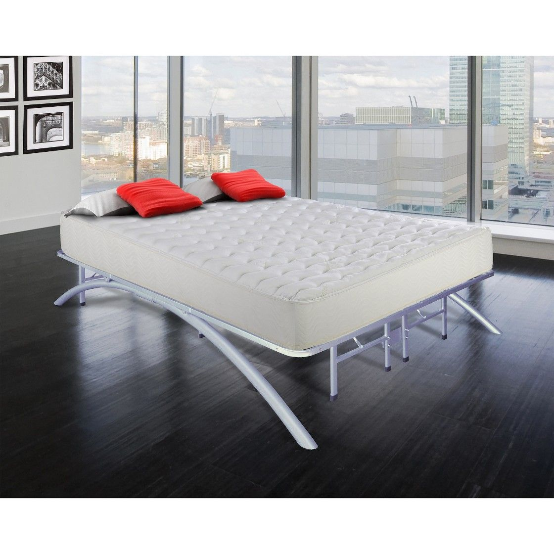 Arch Support Platform Bed Frame Maison Deco