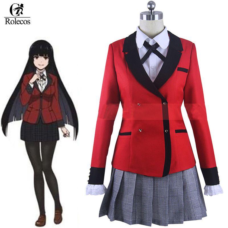635fa9e3f27 Rolecos Compulsive Gambler Anime Kakegurui Cosplay Costume Jabami Yumeko  Cosplay Kakegurui Cosplay Costume Sets  Affiliate