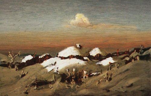 Собрание работ Куинджи Архипа Ивановича / Collection of works of Kuindgy Arkhip Ivanovich (184 фото)