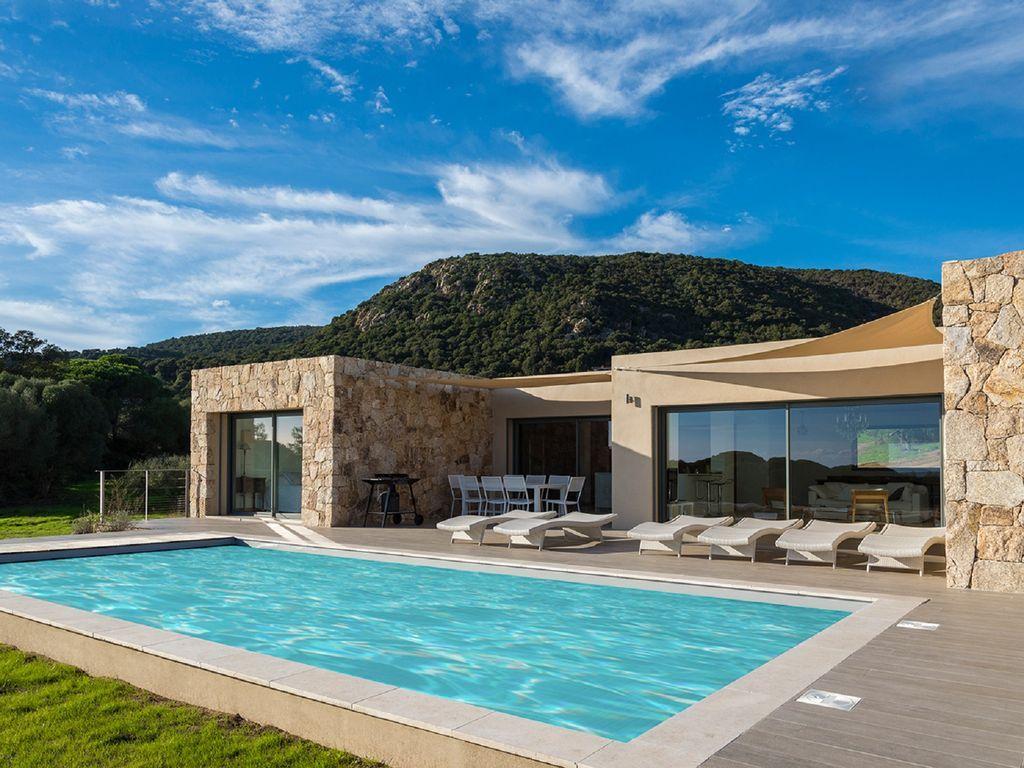 Abritel location corse porto vecchio palombaggia 5 - Location villa avec piscine en corse ...