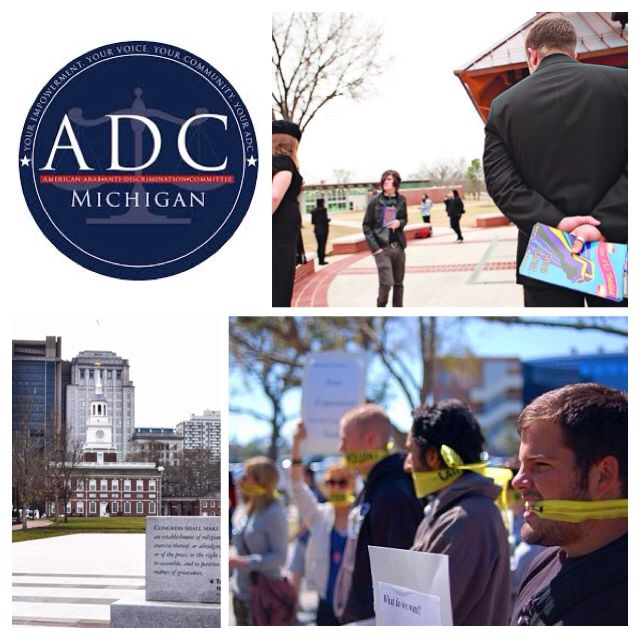 ADC-Michigan works to promote free speech at university in Ohio http://t.co/oS2g1CNrw9 #civilrights #freespeech