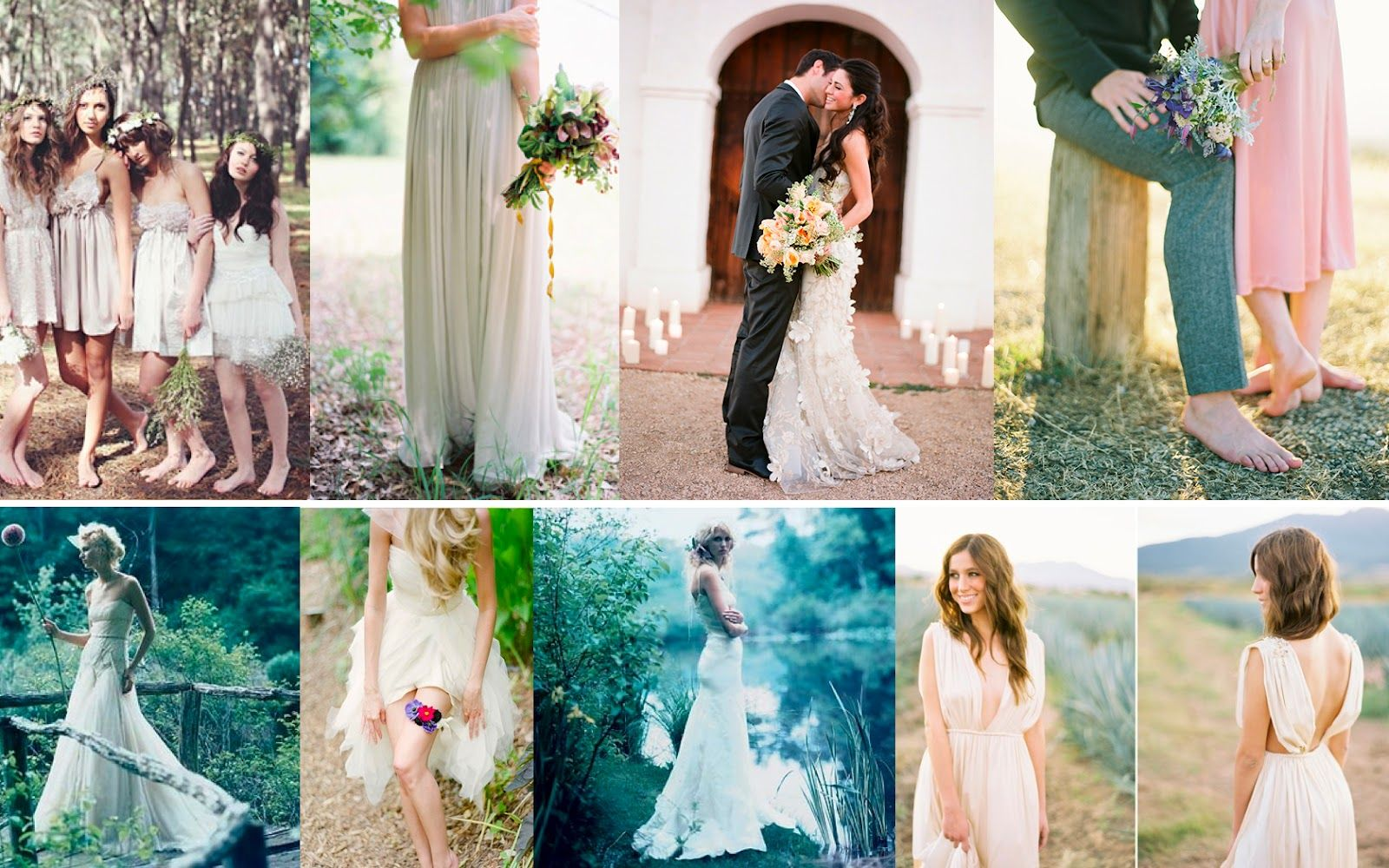 The first pic is def my girls for my boho under stars rustic glam