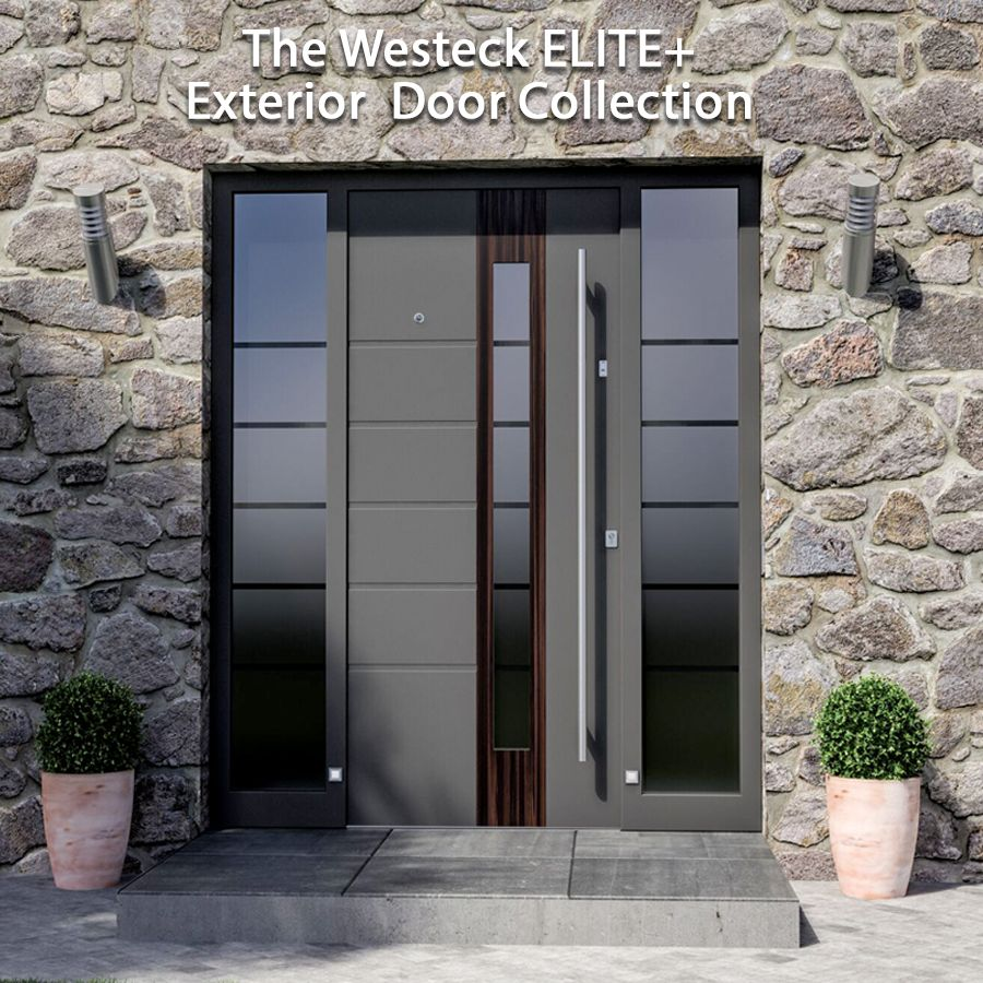 Elite Aluminum Exterior Doors Westeck Windows And Doors Exterior Doors Wood Exterior Door Doors