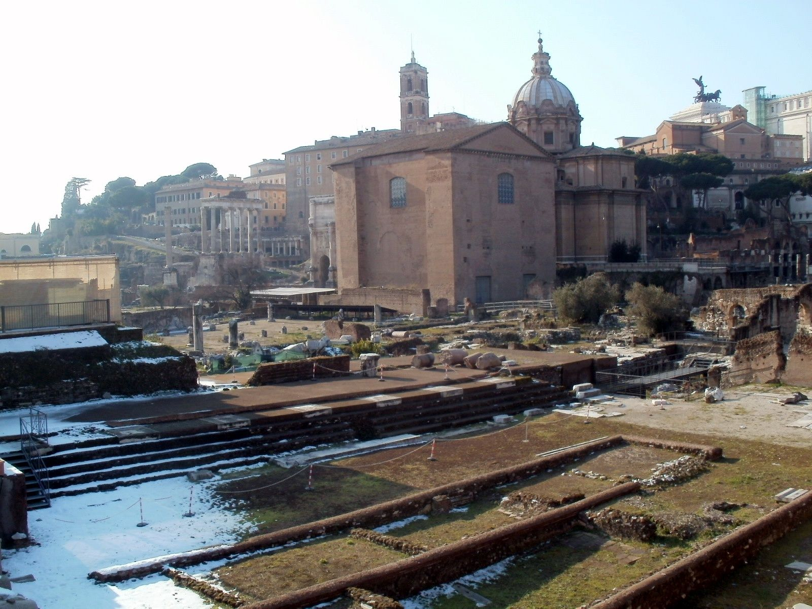 The Senate Building Where Julius Caesar Was Slaughtered