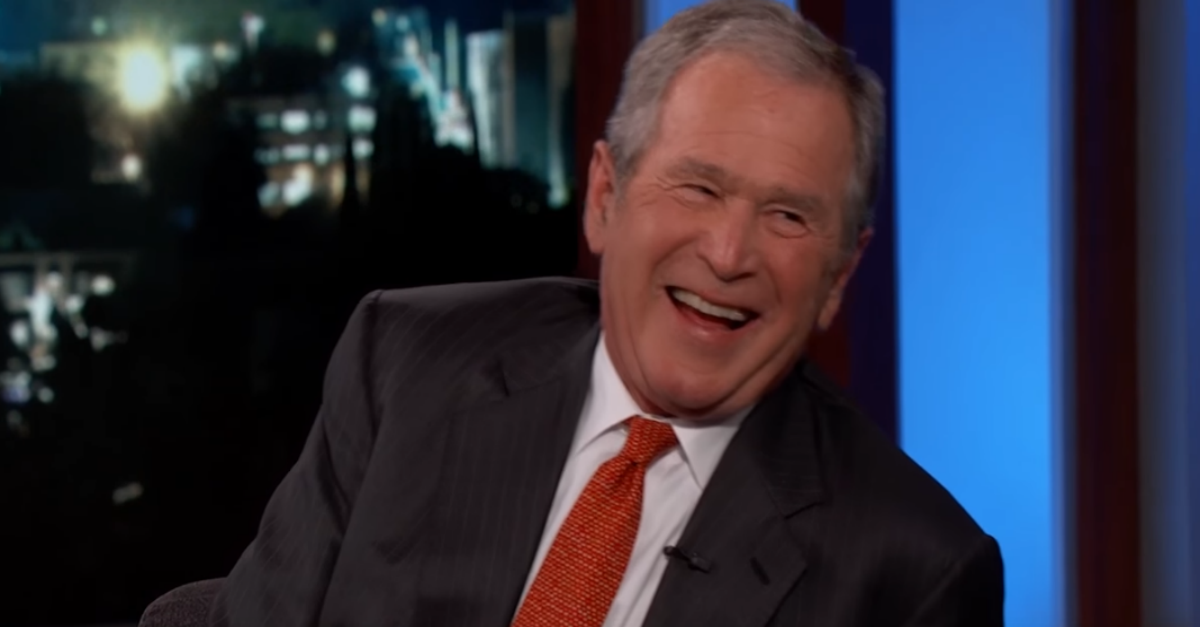 George W Bush Reveals Some Unexpected Info About His First Trip To The White House Trip George White House