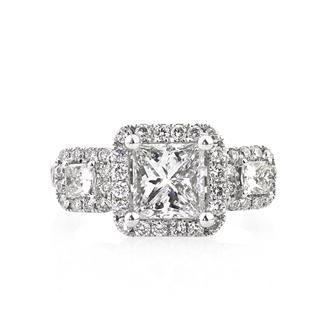 2 71ct Princess Cut Diamond Engagement Anniversary Ring List